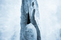 detailed ice structure